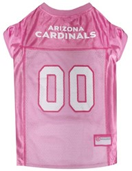 Arizona Cardinals Pink Pet Football Jersey