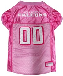 Atlanta Falcons Pink Pet Football Jersey