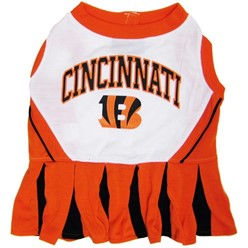 Cincinnati Bengals Pet Cheerleader Dress