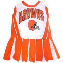 Cleveland Browns Pet Cheerleader Dress