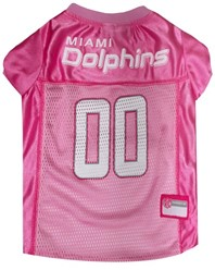 Miami Dolphins Pink Pet Football Jersey