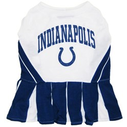 Indianapolis Colts Pet Cheerleader Outfit