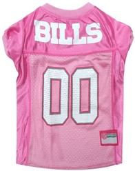 Buffalo Bills Pink Pet Football Jersey