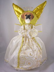 Puggle Angel Tree Topper