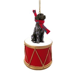 German Shorthaired Pointer Drum Christmas Ornament