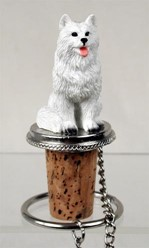 American Eskimo Bottle Stopper- Click for breed options