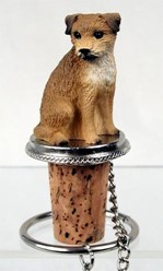 Border Terrier Bottle Stopper