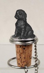 Labradoodle Bottle Stopper
