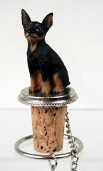 Miniature Pinscher Bottle Stopper