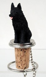 Schipperke Bottle Stopper