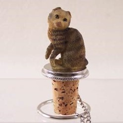 Scottish Fold Bottle Stopper