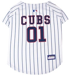 Chicago Cubs Pet MLB Jersey