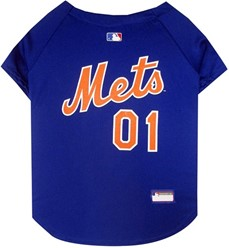 New York Mets Pet MLB Jersey