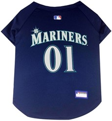 Seattle Mariners Pet MLB Jersey