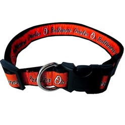 Baltimore Orioles Dog MLB Collar