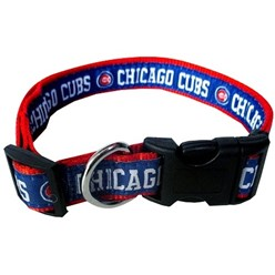 Chicago Cubs Dog MLB Collar