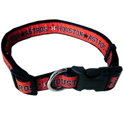 Houston Astros Dog MLB Collar