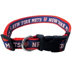 New York Mets Dog MLB Collar