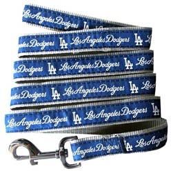 Los Angeles Dodgers MLB Dog Lead