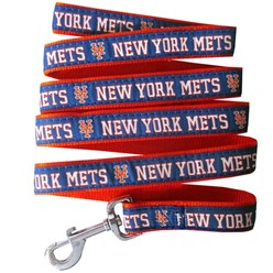 New York Mets MLB Dog Lead