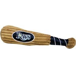 Tampa Bay Rays MLB Plush Baseball Bat Pet Toy