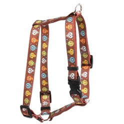 Candy Skulls Harness