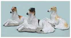 Borzoi Ron Hevener Dog Figurine