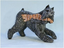 Bouvier des Flandres Ron Hevener Limited Edition Dog Figurine
