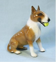 Bull Terrier Ron Hevener Limited Edition Dog Figurine