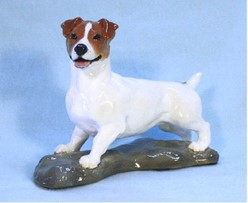 Jack Russell Terrier Ron Hevener Limited Edition Dog Figurine