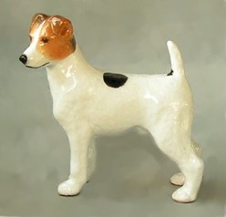 Parsons Russell Terrier Ron Hevener Dog Figurine