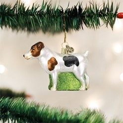 Jack Russell Terrier Vintage Dog Christmas Ornament
