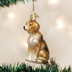 Beagle Vintage Dog Christmas Ornament
