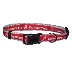 University of Alabama Crimson Tide NCAA Dog Collar