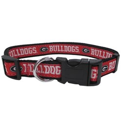 University of Georgia Bulldogs NCAA Dog Collar