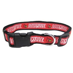 University of Louisville Cardinals NCAA Dog Collar