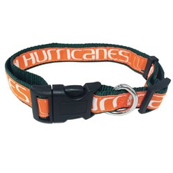 University of Miami Hurricanes NCAA Collar