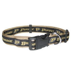 Purdue University Boilermakers NCAA Dog Collar