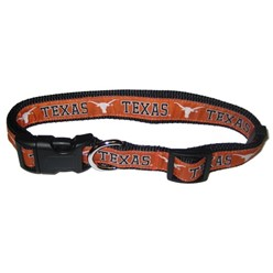 University of Texas Longhorns NCAA Dog Collar