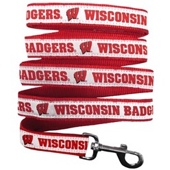 University of Wisconsin Badgers NCAA Dog Leash