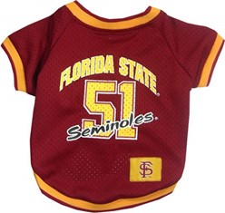 Florida State Seminoles Pet NCAA Football Jersey
