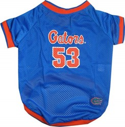 University of Florida Gators Pet NCAA Football Jersey