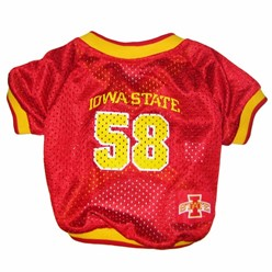 Iowa State Cyclones Pet NCAA Football Jersey
