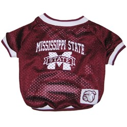 Mississippi State Bulldogs Pet NCAA Football Jersey