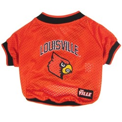 University of Louisville Cardinals Pet NCAA Football Jersey