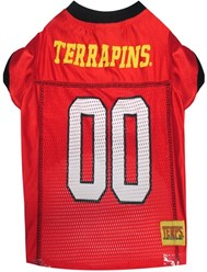 University of Maryland Terrapins Pet NCAA Football Jersey