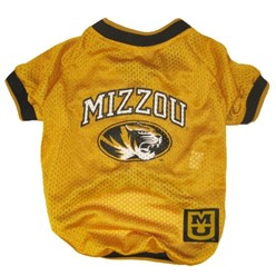 University of Missouri Tigers Pet NCAA Football Jersey