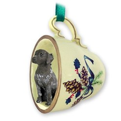 German Shorthaired Pointer Tea Cup Holiday Ornament