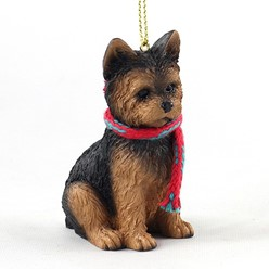 Yorkie Original Christmas Ornament