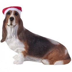 Basset Hound Lying Down Sandicast Ornament